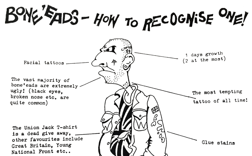 Boneheads: how to recognise one