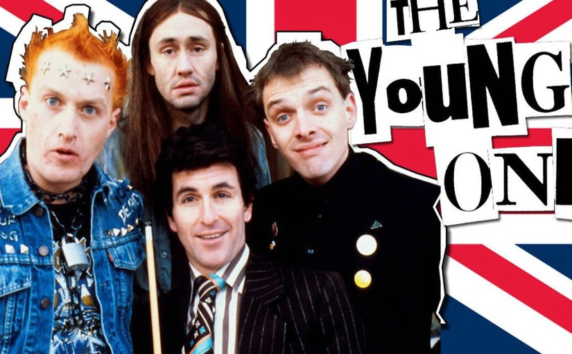 La serie TV The Young Ones