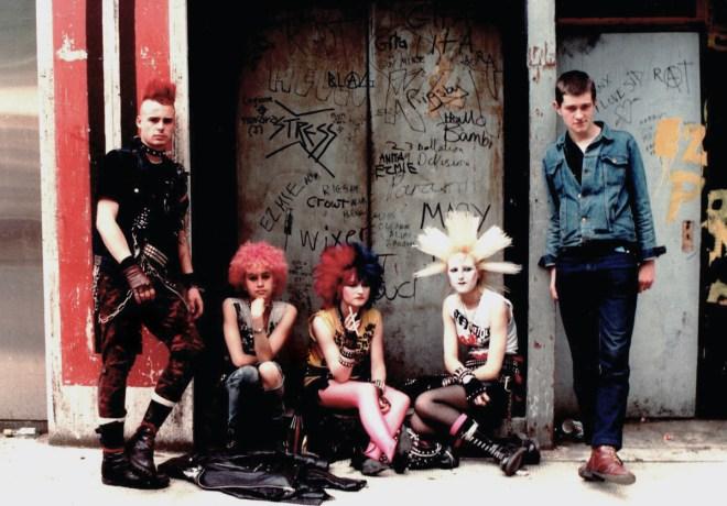 UK 82 punks