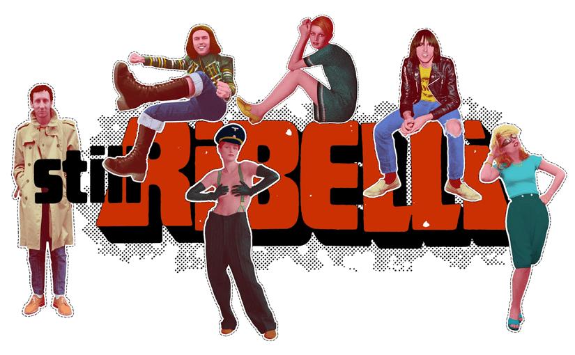 "La miniserie documentario ""Stili ribelli"" (2020) di Lara Rongoni"
