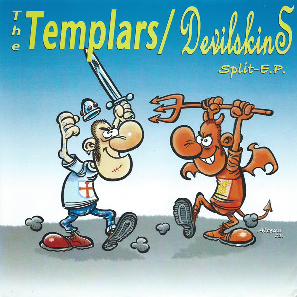 The Templars / Devilskins split 7