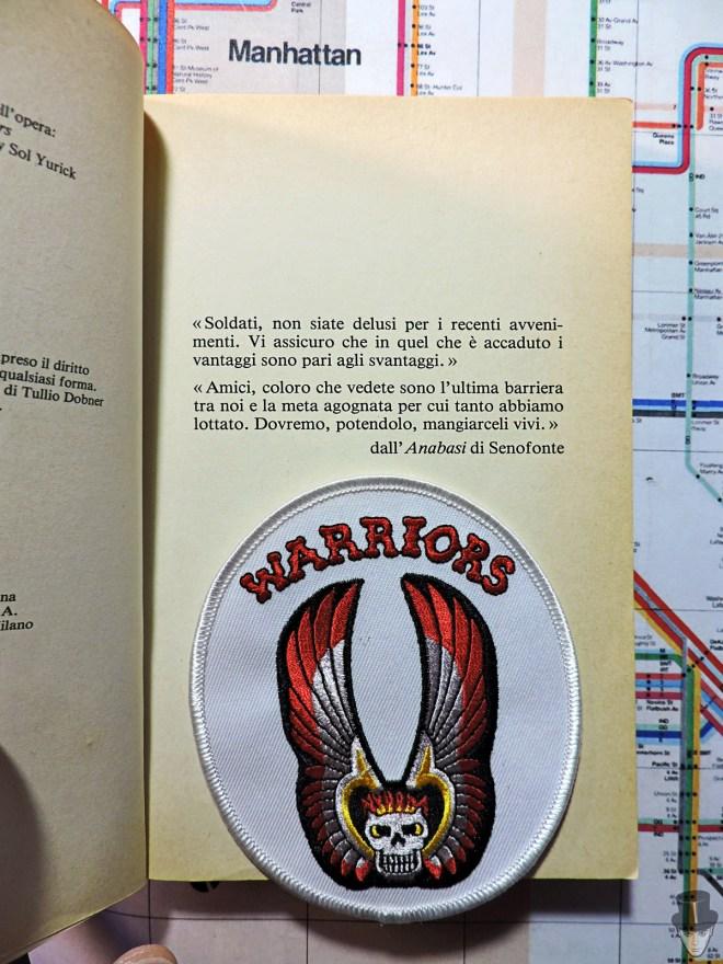 Toppa The Warriors e citazione di Senofonte