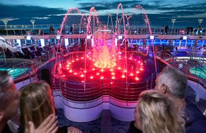 Princess Cruises Water Show