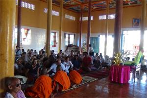 Buddah Blessing Ceremony