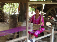 Silk Weaving Village