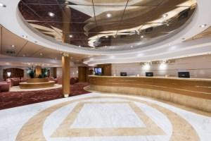 MSC Cruise Lobby