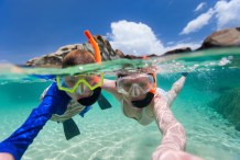 Snorkeling on a Caribbean Cruise