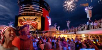 Disney Cruise Line: Movies on Deck