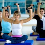 Fitness classes on deck or in the fitness center