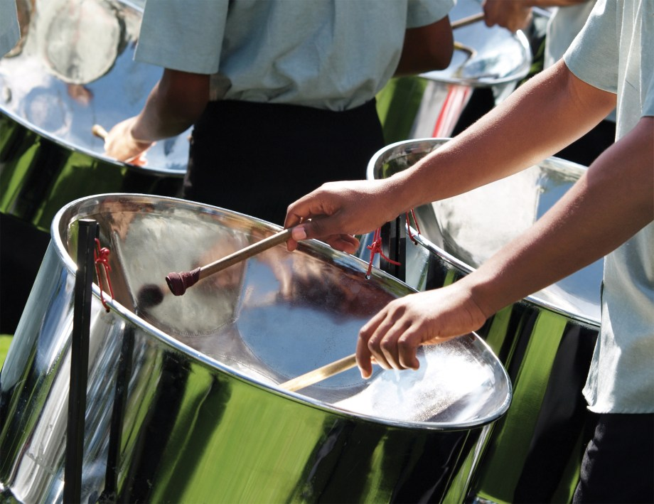 The sounds of Caribbean Steel Drums