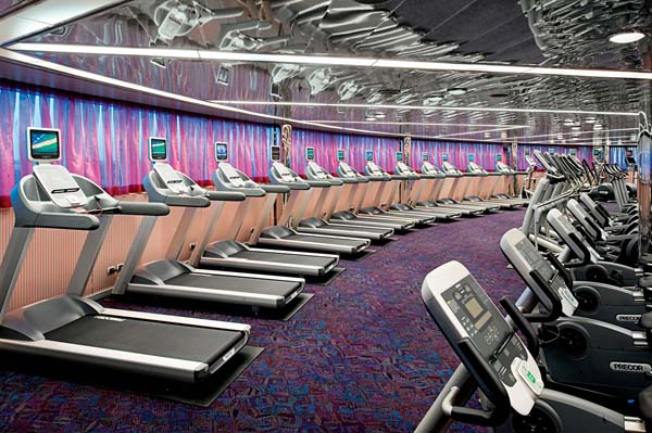 Fitness Center on Holland America