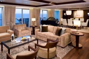 Penthouse Suite on Celebrity Solstice