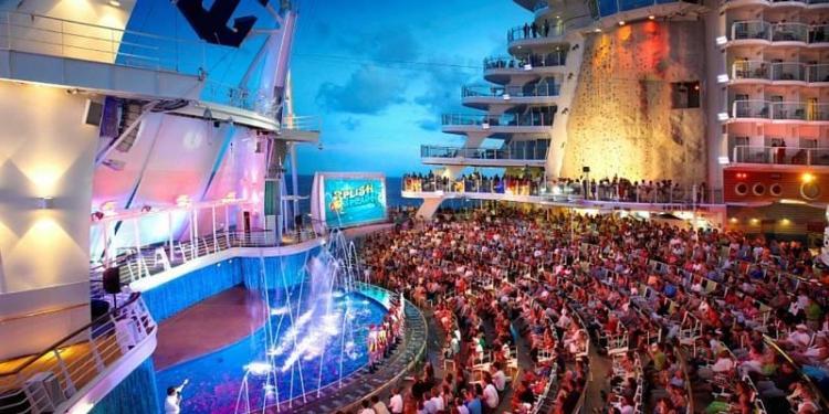Royal Caribbean Aqua Theatre