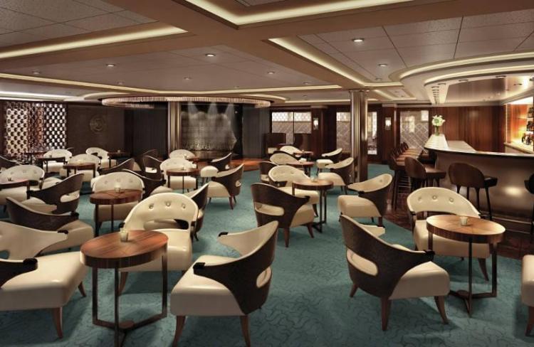 Regent Seven Seas Explorer Meridian Lounge