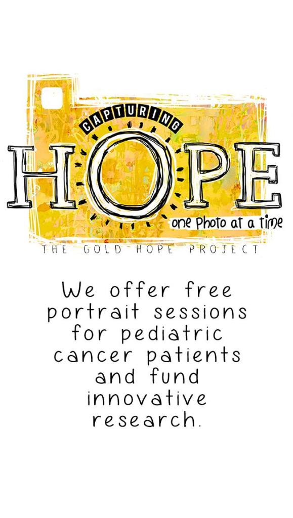 Childhood Cancer Awareness Month: Kelly's Gold Hope Project