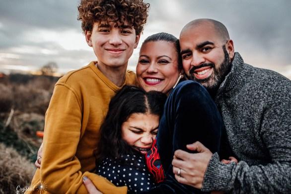 Nashville Family Photographer winter photo session in Franklin TN