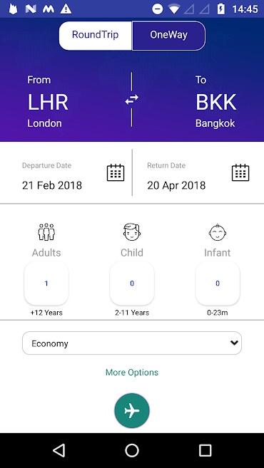Crystal Travel App