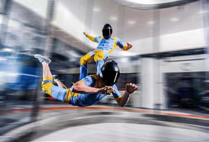 SKYDIVE INDOORS AT IFLY DUBAI IN MIRDIF CITY CENTRE