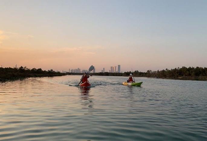 Indulge in water sports at Mangroves Marina
