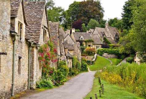 Bibury, Gloucestershire, UK