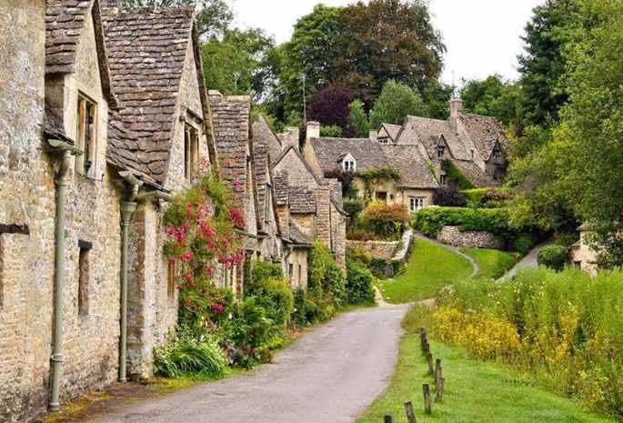 Bibury, Gloucestershire, UK
