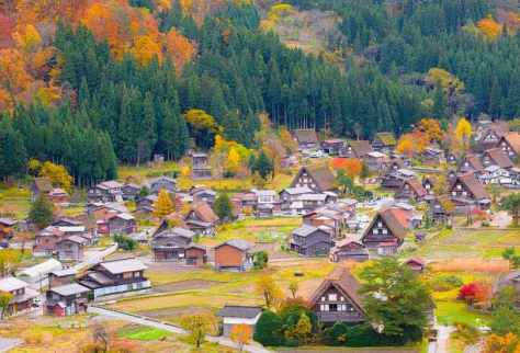 Shirakawago and Gokayama, Japan