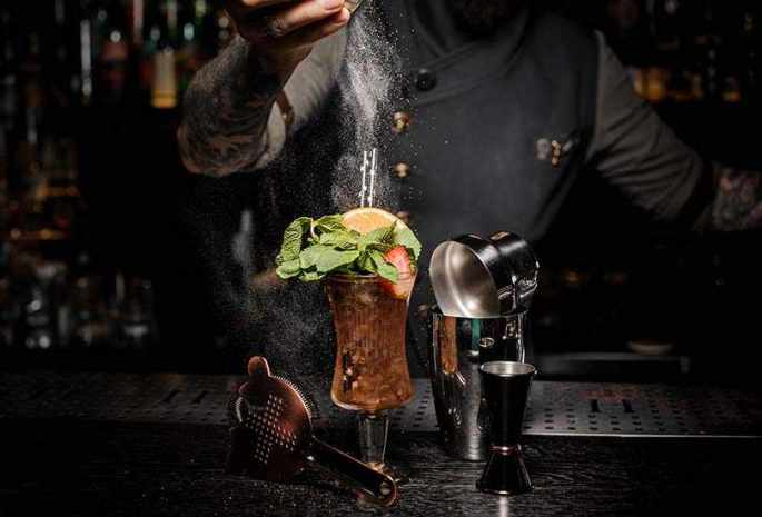 Relish Fancy Cocktails at a Speakeasy Bar