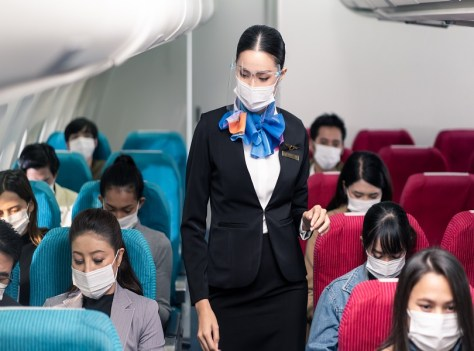 Airlines Guidelines over Flying