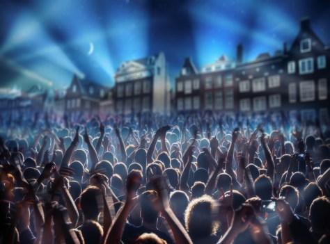 Amsterdam at New Year