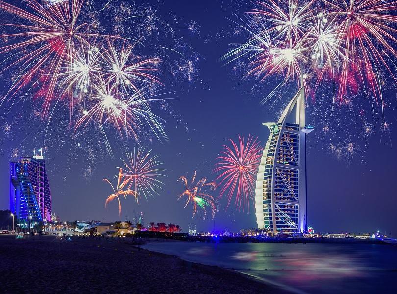 Dubai on New Year