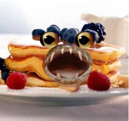 An artist's impression of the pancake batfish. Image: Bryson Fink.