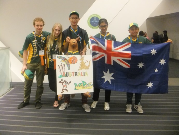 Young Aussie scientists on the international stage
