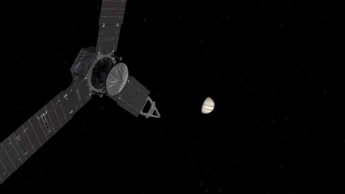 Juno's Jupiter call via Canberra