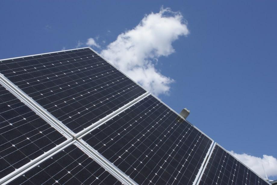 Solar photovoltaic panel
