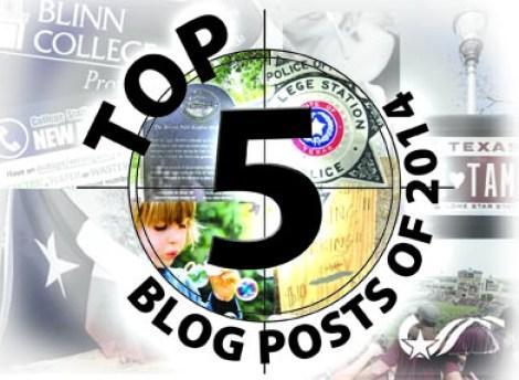 Top 5 Blog Posts of 2014