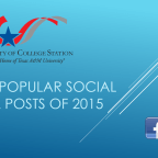 Our most popular social media posts of 2015