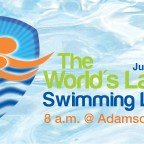 Promoting safety with the World's Largest Swimming Lesson