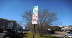 Don't overstay in timed parking areas.