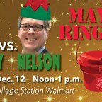 Mayors face off Saturday in Salvation Army Ring Off