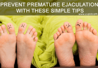 prevent premature ejacualtion