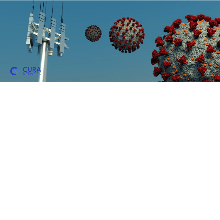 a network mast or antenna sending COVID-19 virus-Top 7 COVID-19 myths