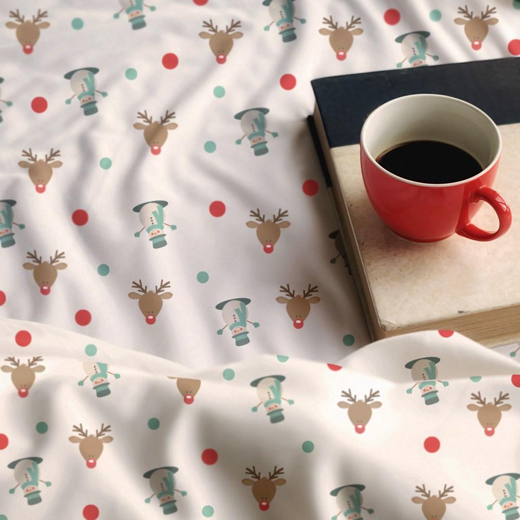 Deer Themed All Over Print Blanket