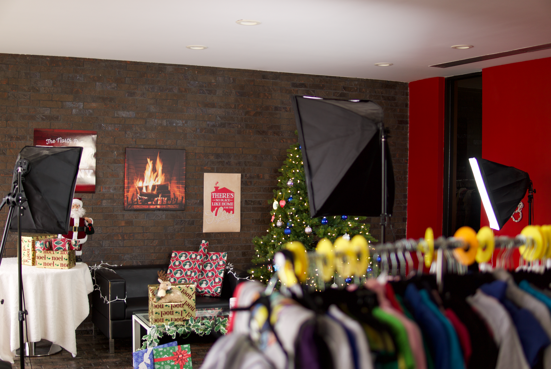 Behind The Scenes:  The Holiday Reveal Party