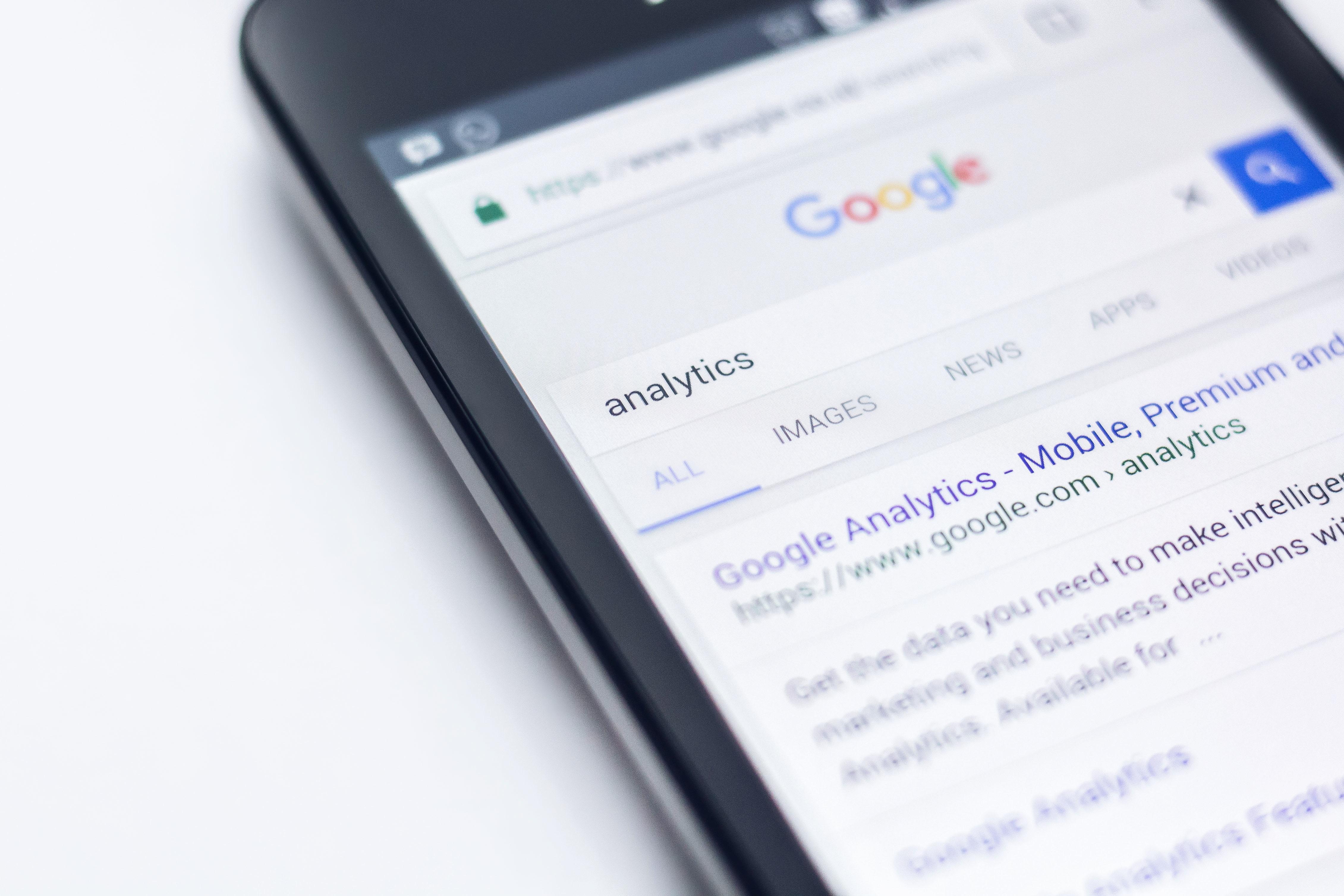 Google Analytics Trends