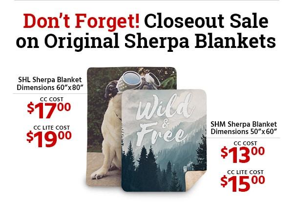 blanket promo
