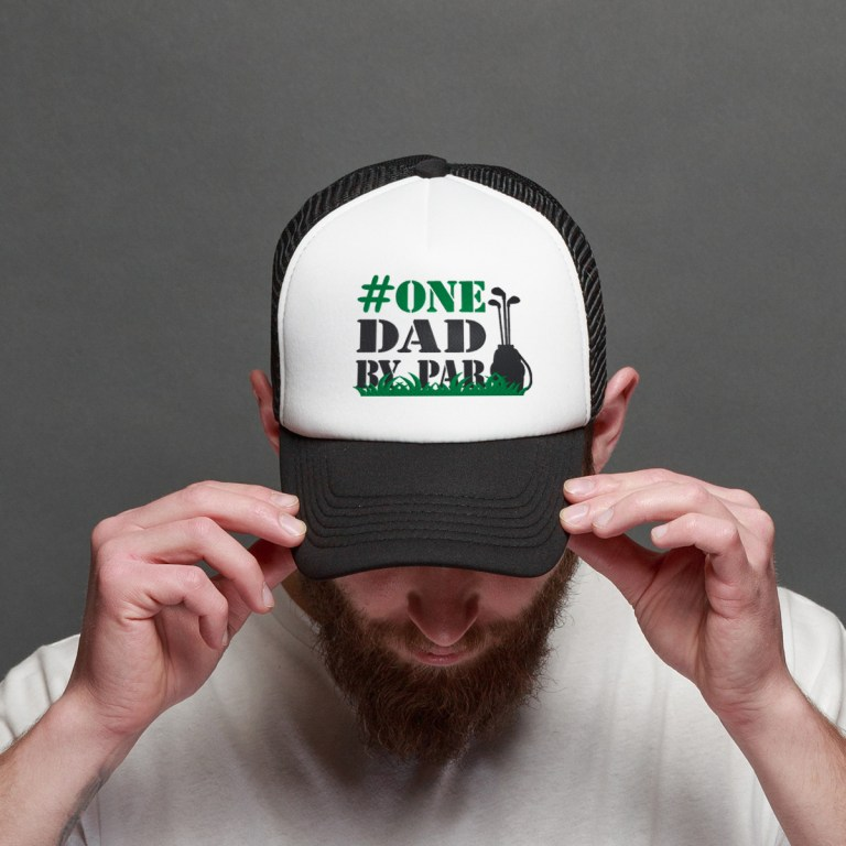 golf dad baseball hat