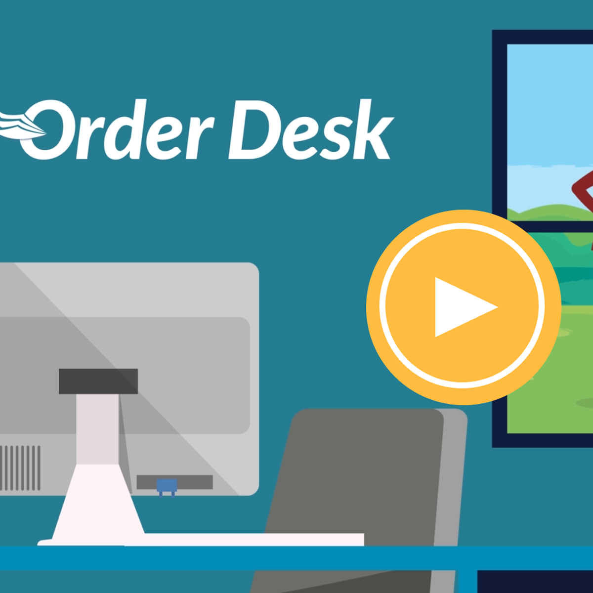CustomCat partners with Order Desk