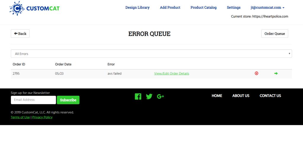 Dashboard Updates - Pending Order Queue | CustomCat Blog