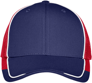 C904 Port Authority Colorblock Mesh Back Cap