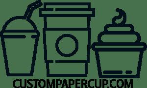 custompapercup.com logo custom food packaging